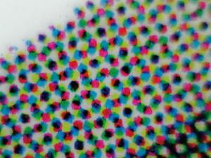 印刷物はCMYKの4色の組合せで色を作り出している